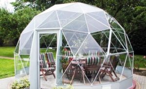 FRP Geodesic Dome House Shape Tiny House