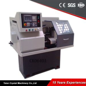 Small New Condition CNC Lathe Machine for Sale (CK0640A) pictures & photos