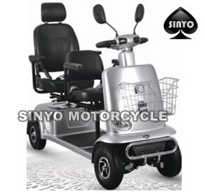 Two Seat Good Quality Mobility Scooter pictures & photos