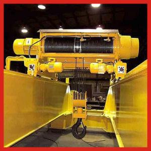 Double Beams Eot Overhead Crane (LH Model Electric Hoist)