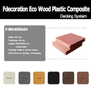 100% Recycle Green Material Garden Use WPC Decking Floor pictures & photos