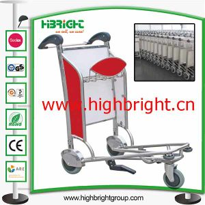 Handle Brake Airport Baggage Trolley pictures & photos