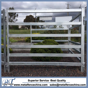 1.8m X 2.1m 6 Oval Bars Heavy Duty Portable Cattle Yard Panel pictures & photos