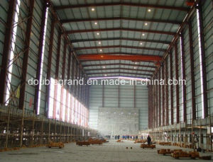 Light Steel Structure Workshop with Crane Inside pictures & photos