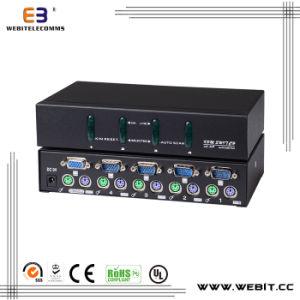 4 Port VGA Kvm Switch pictures & photos