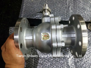 2PC Stainless Steel Flanged Floating Type Ball Valve pictures & photos