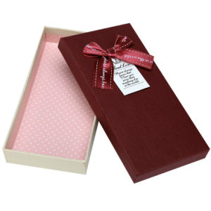 Elegant Paper Gift Box for Chocolate (CB60-26)