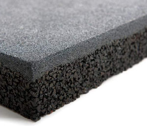 1 Meter Rubber Tiles, Big Size Rubber Floor Tiles, Outdoor Rubber Flooring pictures & photos