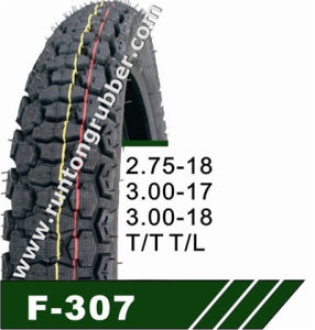 Tubeless Tyre and Motorcycle Tyre 2.75-18 3.00-18 pictures & photos