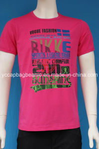 Heat Transfer Printing Men′s T Shirt, Sport T Shirt pictures & photos