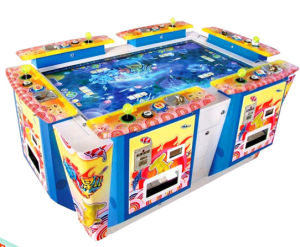 China video games arcade shooting fish game machine more for Arcade fish shooting games