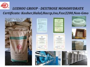Dextrose Monohydrate for Sweetener Kosher and Halal Certified pictures & photos