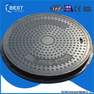 700mm Round Sewer FRP Manhole Covers with Locked pictures & photos