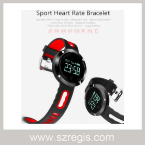 Round Screen Blood Pressure Heart Rate Monitoring Bluetooth Bracelet pictures & photos