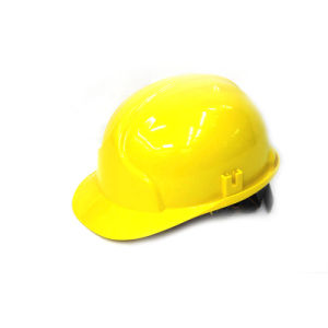 PE T Type Safety Helmet (Yellow) pictures & photos