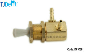 Dental Unit Accessory Spare Part Master Copper Air Switch Valve for Water and Air (DP-C08) pictures & photos