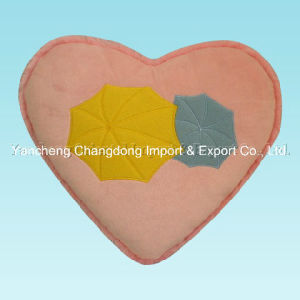 Plush Heart Shape Pillow with Soft Material pictures & photos