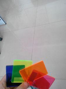 Neon Color Acrylic Board pictures & photos