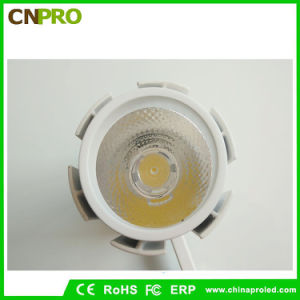 New Design 15W LED COB Track Light with 24 Degree Beam Angle pictures & photos