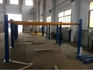 Four Post Hydraulic Lift Used for Aligment Dfpa609 pictures & photos