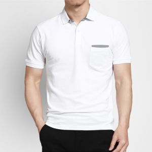 Softextile New Design Custom Men′s Embroidered Polo Shirt/Polo Shirt Embroidery pictures & photos