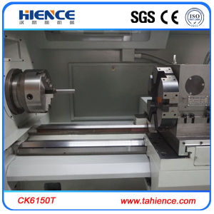 Servo Motor Drive China Heavy Duty CNC Lathe Price (CK6150T) pictures & photos
