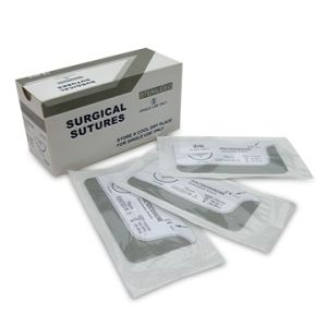 Medical Supply, Polydioxanone Surgical Suture Thread, Pdo Suture USP5/0 pictures & photos