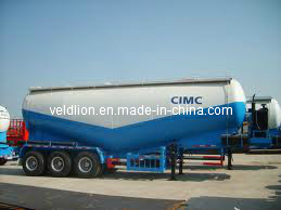 3 Axle Bulk Powder Tanker Semi Trailer (VL9401) pictures & photos