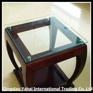 Clear Tempered Table Glass / Glass for Desk Top pictures & photos