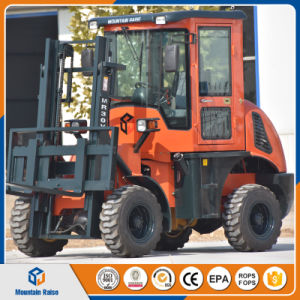 Chinese Manufacturer 3ton 4WD 3m All Rough Terrain Forklift pictures & photos