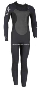 Men′s Neoprene Diving Suit with Nylon Fabric (HXWS081) pictures & photos