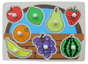 Wooden Knob Puzzle Fruit Wooden Puzzle (34294) pictures & photos