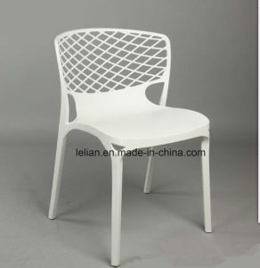 Outdoor Plastic Stacking Folding Dining Coffee Chair pictures & photos