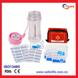 High Quality Waterproof Nylon Bag Light Cup First Aid Kit pictures & photos