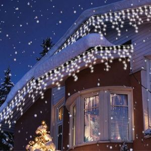 LED Christmas Curtain String Lights pictures & photos