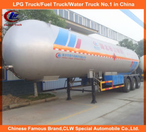 Heavy Duty 3 Axle Propane Transport Tank Trailer LPG Tank Semi Trailer for Sale pictures & photos