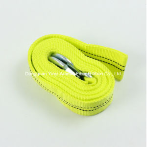 High Strength Polyester Nylon Tow Trailer Belt Webbing pictures & photos