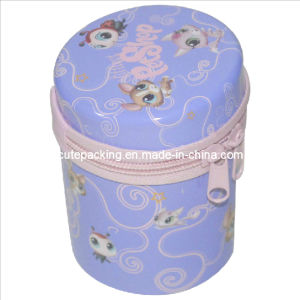 Promotion Gift Tin Box with a Zipper (GTB03)