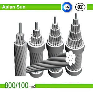 Standard ASTM Aluminum Conductor, Aluminum Clad Steel Reinforced ACSR/Aw pictures & photos