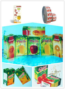 Juice and Milk Packaging Materials in Rolls pictures & photos