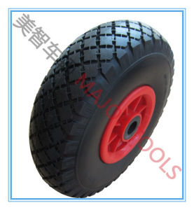Model300-4 PU Foam Wheel Best Quality Wheel Chair Wheel for Your Safe pictures & photos