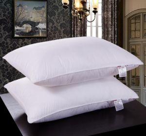 200 Thread Count 100% Polyester Microfiber Pillow in Multiple Size pictures & photos