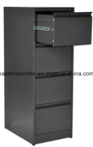 Luoyang Manufacture Office Use Four Drawer Metal Steel Cabinet pictures & photos
