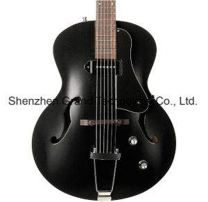 Archtop Hollow Body Electric Guitar with P-90 Pickup (GD-01) pictures & photos