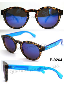 Hot Selling Fashion Plastic Sunglasses with 100% UV Protection CE FDA
