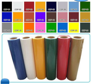 High Quality Color Vinyl PVC Self Adhesive Vinyl with Good Sticker for Cutting Plotter pictures & photos