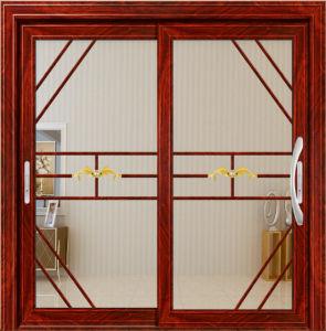 Stainless Steel Mosquito Net Double Glazed Aluminium Sliding Door pictures & photos