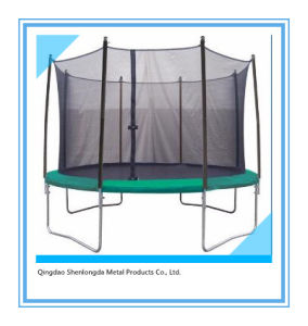 12FT Trampoline with Ladder Children′s Outdoor Toy pictures & photos