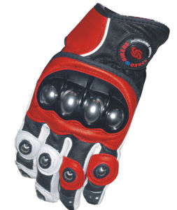 Factory Direct Sale Best Selling Products Fullfinger Leather Motorcycle Glove pictures & photos