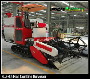 Crawler Combine Harvester for Muddy Field pictures & photos